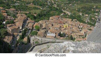 Moustiers-Sainte-Marie, France - 4K, Moustiers-Sainte-Marie,...
