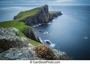 Neist point lighthouse Isle of Skye - Neist point lighthouse...