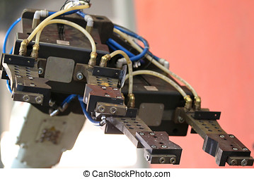 element of an industrial robot for manipulation