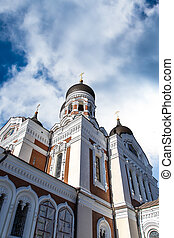 Orthodoxy Cathedral - Side view of Alexander Nevsky...