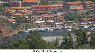 View on Porto, Corsica - Native Camera Output, 4K, View on...