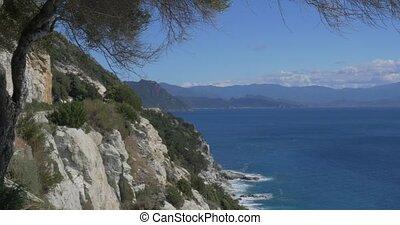 Viewpoint at Nonza, Corsica - 4K, Viewpoint at Nonza,...