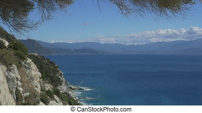 Viewpoint at Nonza, Corsica - 4K, Viewpoint at Nonza,...