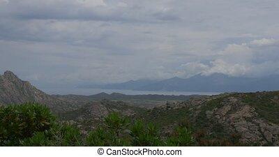 Corsica Landscape - 4K, Corsica Landscape at Nonza, native...