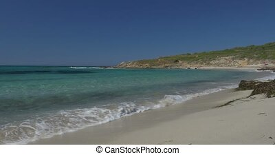 Beach at Lumio, Corsica - 4K, Beautiful Beach at Lumio,...