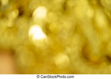 Gold necklaces , bracelets ,Blured and bokeh for gold...