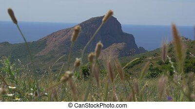 most west point of Corsica - Native Camera Output, 4K, most...