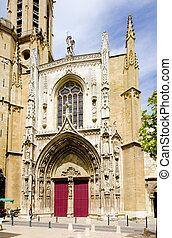 Saint Sauveur Cathedral, Aix-en-Provence, Provence, France