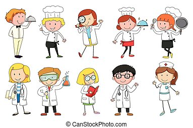 Occupations Illustrations and Clip Art. 3,131 Occupations royalty ...