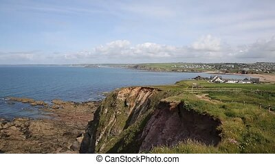 South west coast path Thurlestone - South west coast path...