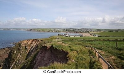 South west coast path Thurlestone - South west coast towards...