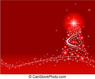 Christmas Background - Red Christmas Background. Created in...