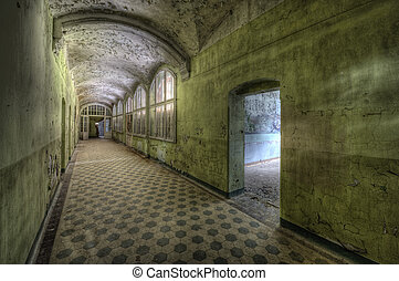 Beelitzer Heilstaetten - The old hospital complex in Beelitz...