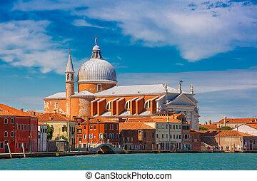 Church Il Redentore on Giudecca, Venice, Italia - View from...