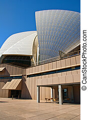 Sydney Harbour, Australia - Detail of the Sydney Opera...