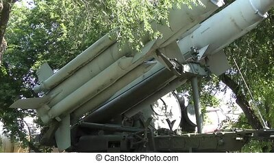 Anti-aircraft missiles - Retro anti-aircraft missiles...