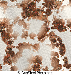 Rusted metal generated seamless texture