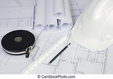 Blue prints home Plans - A photo of blue prints home Plans