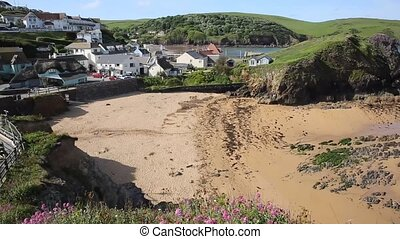 Outer beach Hope Cove South Devon England UK near...