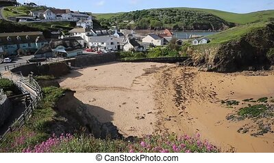 Hope Cove South Devon England UK near Kingsbridge and...