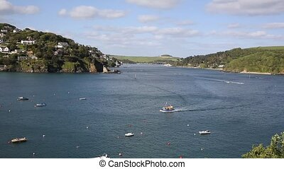 Salcombe Devon sailing boats uk - Salcombe Devon England UK...