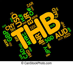 Thb Currency Shows Foreign Exchange And Broker - Thb...