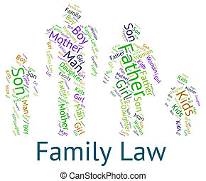 Family Law Shows Blood Relative And Court