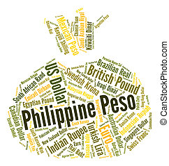 Philippine Peso Represents Exchange Rate And Broker -...
