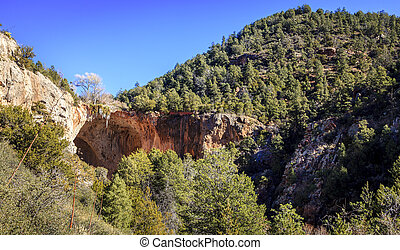 Tonto Bridge - Natural bridge in Tonto Bridge State Park in...