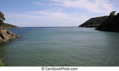 View North Sands beach Salcombe - View from North Sands...