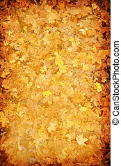 grunge abstract autumn leaf background for multiple uses