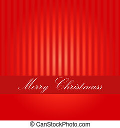 Christmas retro greeting card and background - Red Christmas...