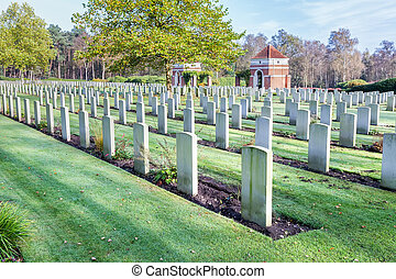 Canadian war cemetery in Holland - Canadian war cemetery...