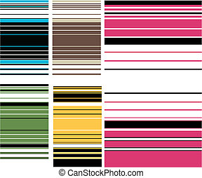colourful stripe pattern
