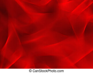 red background  - Abstract red background with smooth lines