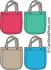 fashion handbag illustration