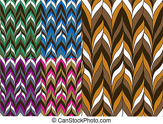 trendy seamless pattern