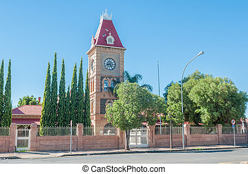 Clock tower, Department of Public Works, Kimberley - Clock...