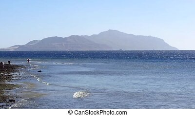 Red sea - The coast of the Red Sea and Tiran Island