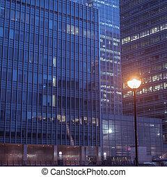 Office Buildings Canary Wharf, London