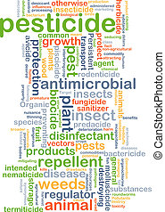 Pesticide background concept - Background concept wordcloud...