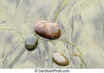 Beach Pebbles and Stones - Beach pebbles and stones washed...