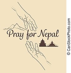 Help for NEPAL Earthquake Crisis nature abstract on helping...