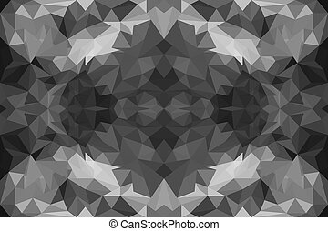 Colorful polygon Abstract background