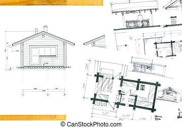home plan sketches and drawings
