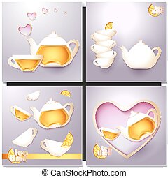 A cup of tea and a pot