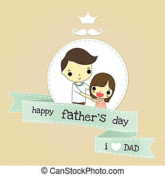 father day and love emotion