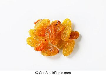 Sultana raisins - Studio shot of sultana raisins