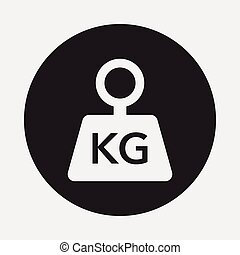 weight machine icon