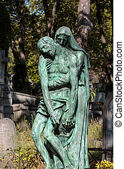Cementary of  Pere Lachaise in Paris